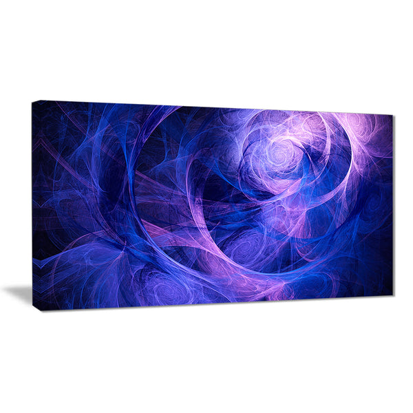 bright blue stormy sky abstract digital art canvas print PT7907
