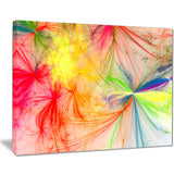 christmas fireworks colorful digital art canvas print PT8004
