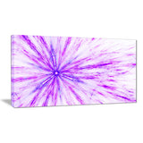 purple flash of supernova abstract digital art canvas print PT8030