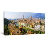 florence panoramic view cityscape photo canvas print PT8042