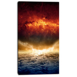 dramatic apocalyPTic design modern spacescape canvas print PT8071