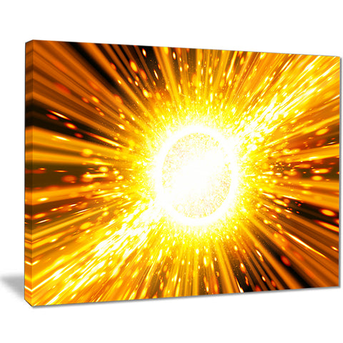 bing bang explosion modern spacescape canvas print PT8072