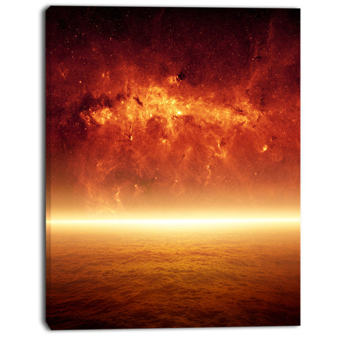 apocalyPTic background modern spacescape canvas print PT8092