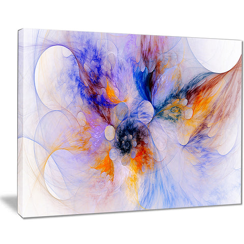 fractal floral wallpaper art floral digital art canvas print PT8109