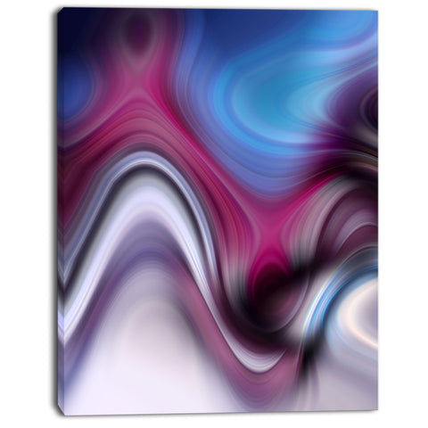 beautiful texture of blue purple abstract digital canvas print PT8144