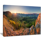 spring forest slovakia landscape photo canvas print PT8165