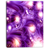 3d purple texture pattern abstract digital art canvas print PT8204