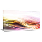 elegant light color pattern abstract digital art canvas print PT8214
