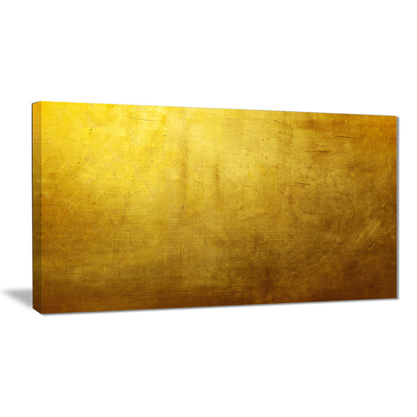 gold texture wallpaper abstract digital art canvas print PT8410
