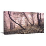 vintage autumn landscape modern photo canvas print PT8462
