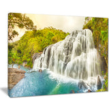 bakers falls panorama landscape photo canvas print PT8618