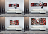 Custom Fine Art - Multi-Panel Paintings 120x58in