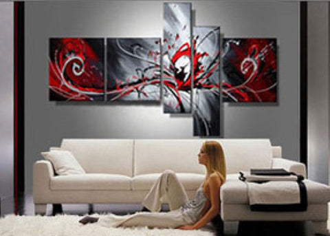 Extra Large Abstract Painting 414 - 92x50in