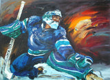 Hockey Art Painting - 40x30in