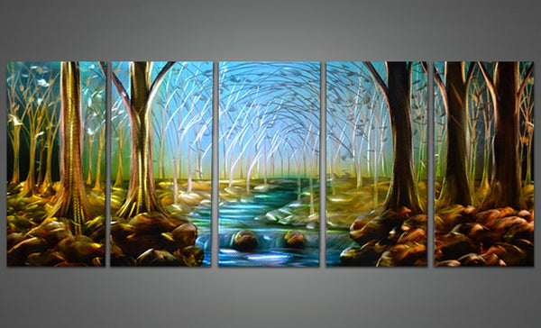 Forest Metal Wall Art 60x24