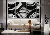 Custom Metal Wall Art Painting - 165x48in