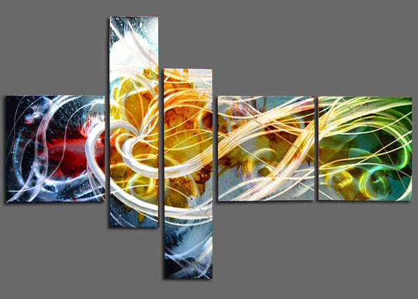 Large Contemporary Metal Wall Art