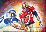 American Football Art Painting - 40x30in