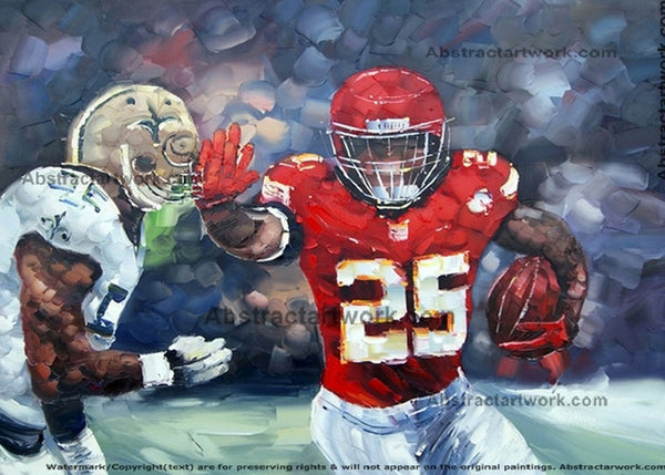 US Sport Painting 40x30in