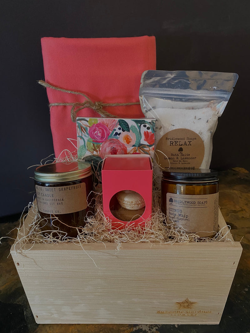 Shhhh Mom is Relaxing Curated Gift Box