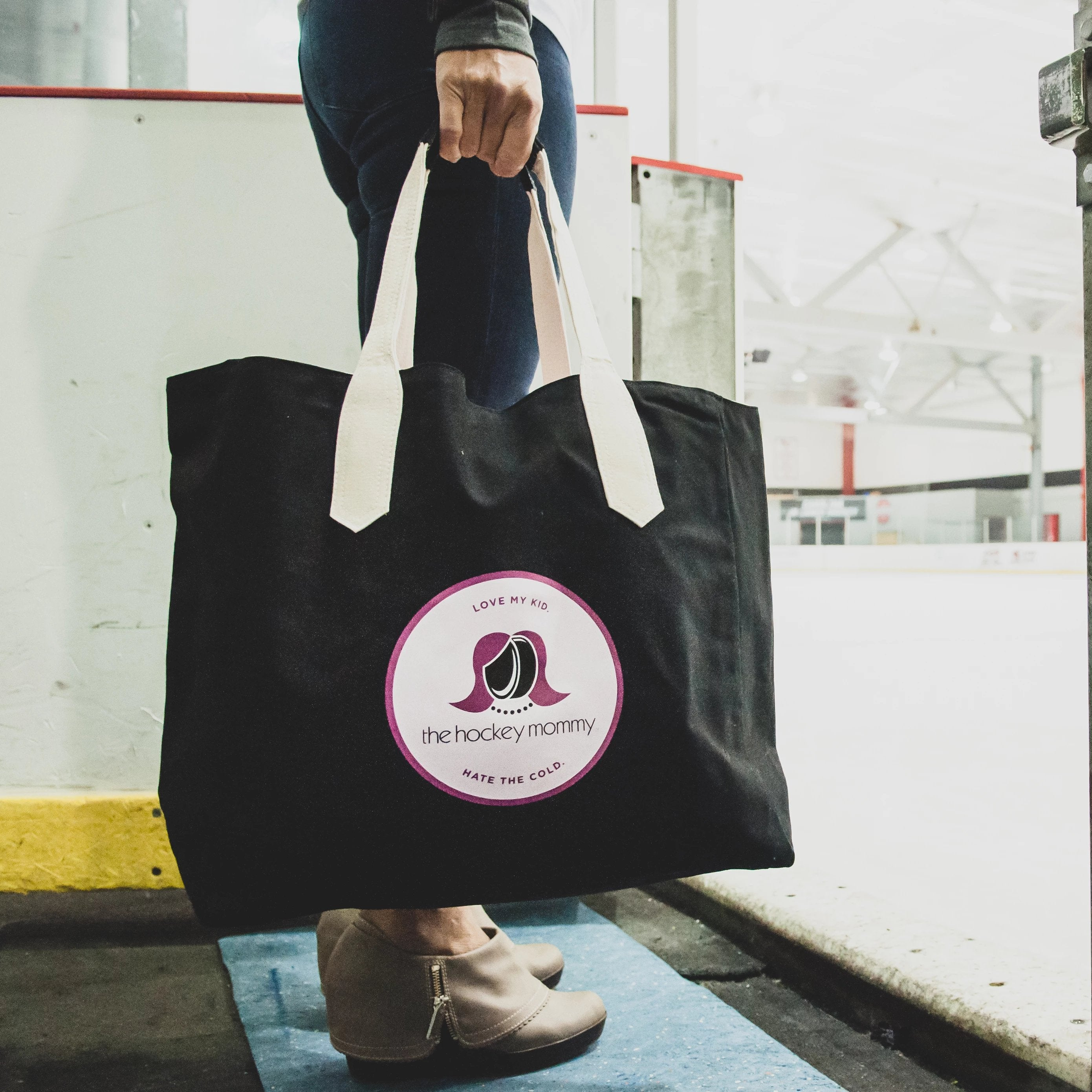 The Hockey Mommy Rink Tote