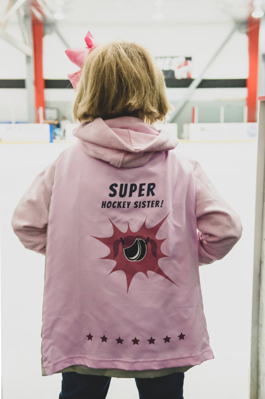 Super Hockey Sister Toddler Cape