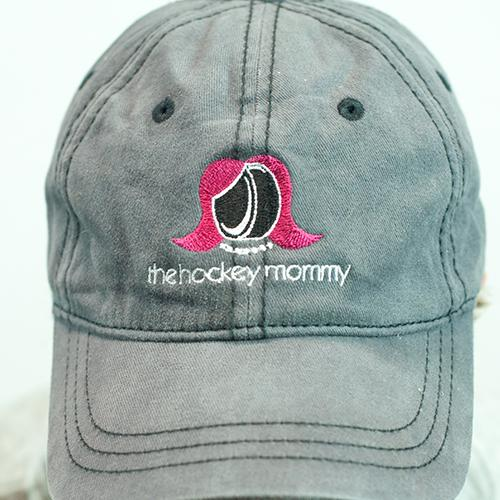 The Hockey Mommy Baseball Cap