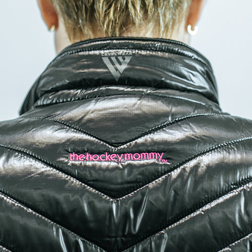The Hockey Mommy Jacket (Black)
