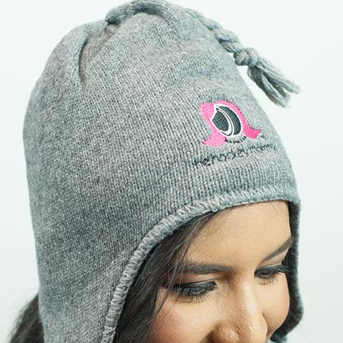 The Hockey Mommy Tassel Hats