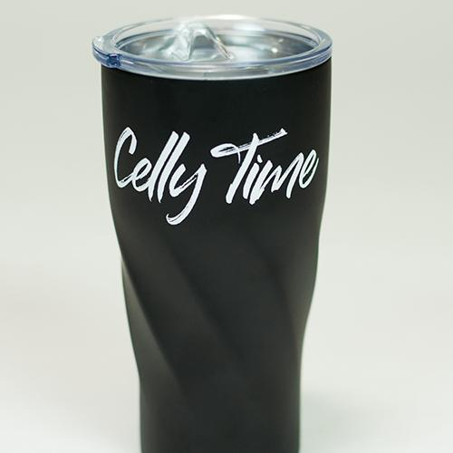 The Hockey Mommy Travel Tumbler