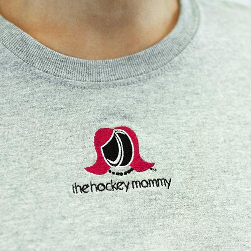 The Hockey Mommy Short Sleeve Tee