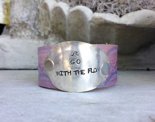 Go with the Flow Metallic Purple Cuff - The Dove Cote