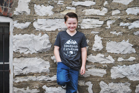 Kids Mountain Expedition Tee