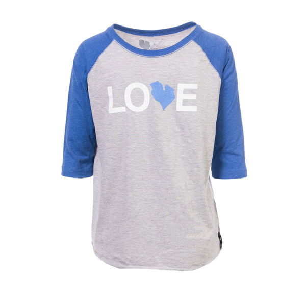 LOVE BASEBALL TEE - YOUTH