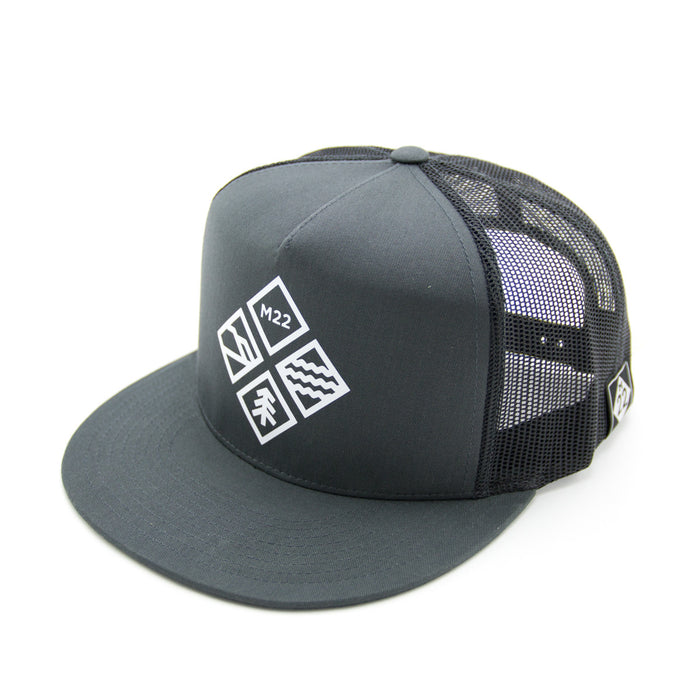 ADVENTURE ICON FLAT BILL HAT
