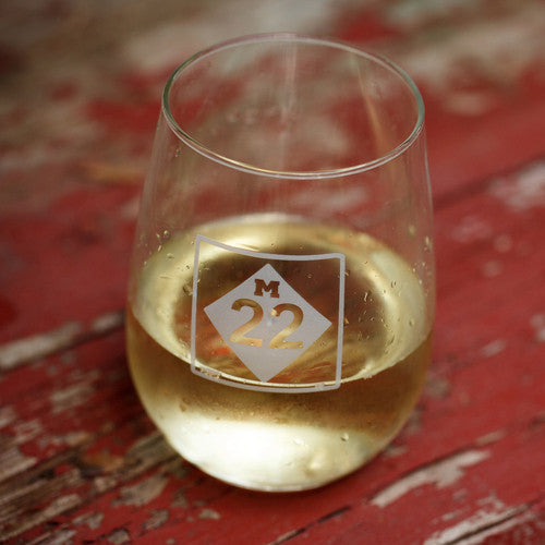 M22 STEMLESS WINE GLASS