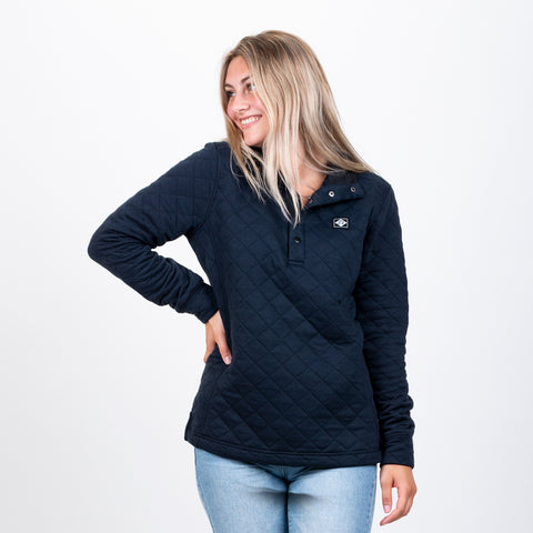 CLASSIC QUILTED PULLOVER WS