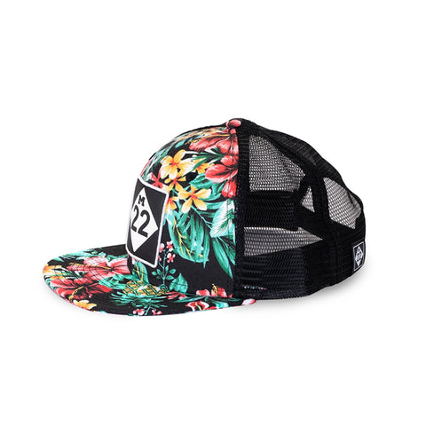 CLASSIC TROPICAL FLAT BILL HAT