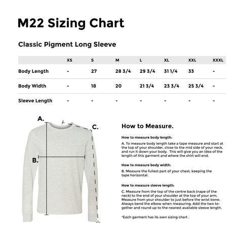 CLASSIC PIGMENT LONG SLEEVE