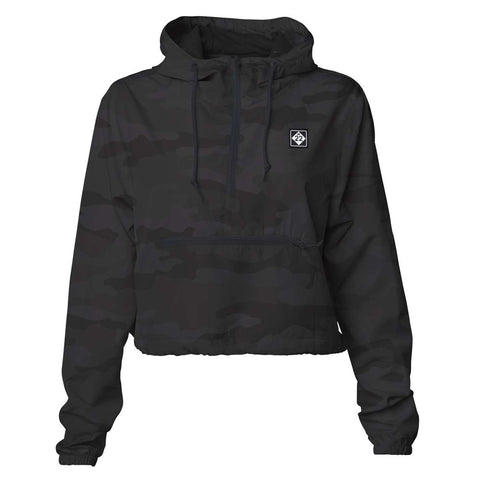 M22 CROP WINDBREAKER WOMEN'S