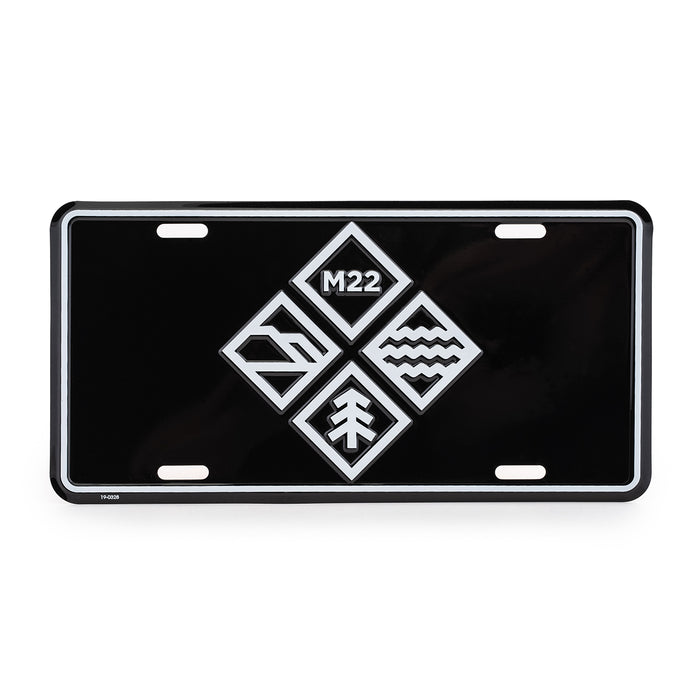 ADVENTURE ICON LICENSE PLATE