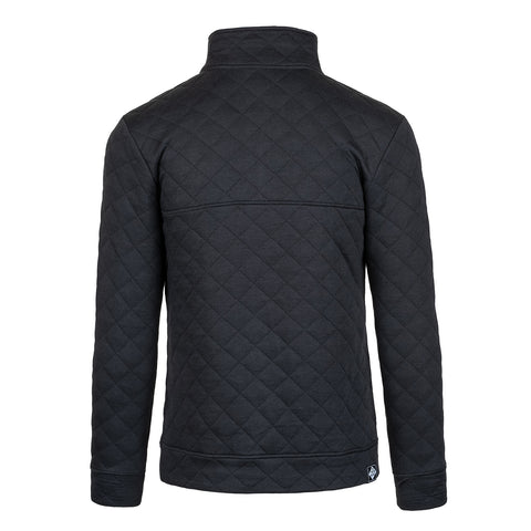 CLASSIC QUILTED PULLOVER