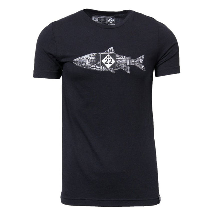 FISH LINE-ART T-SHIRT