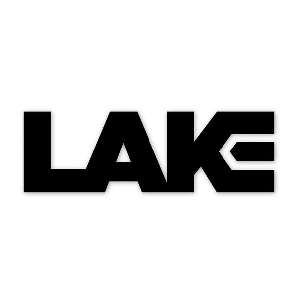 LAKE DIE CUT STICKER