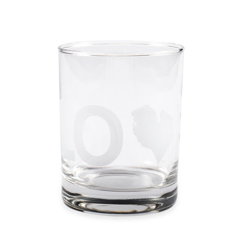 LOVE ROCKS GLASS
