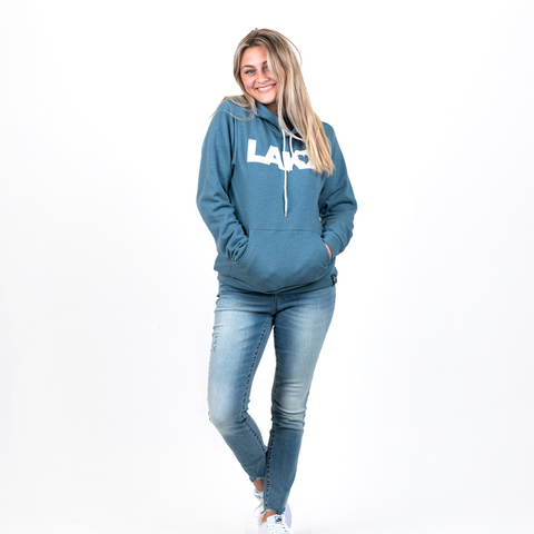 LAKE LOVE FLEECE HOOD