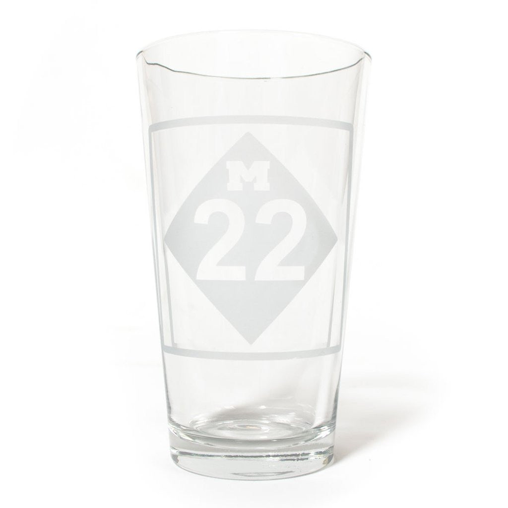 CLASSIC M22 PINT GLASS SET OF FOUR