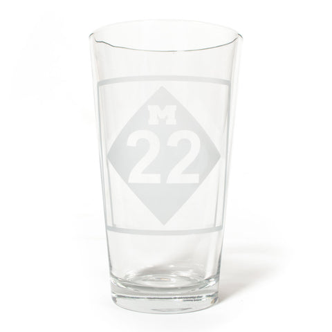M22 PINT GLASS