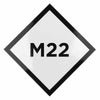 M22 ICON STICKER