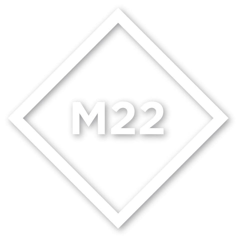 M22 Icon Die Cut Sticker